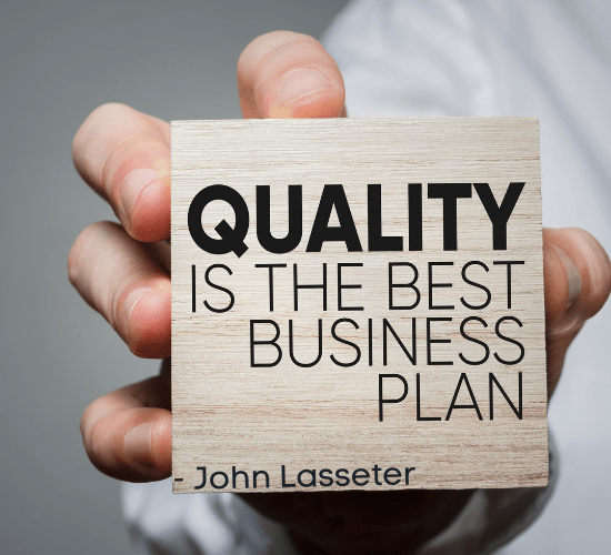 business quote about quality